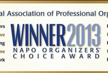 2013 Organizers' Choice Award Winners! / These are the products and services that NAPO organizers and productivity professionals attending the NAPO2013 Annual Conference and Organizing Exposition chose as their favorite tools for achieving and maintaining order, efficiency and productivity. Congratulations to all the winners! / by NAPO National