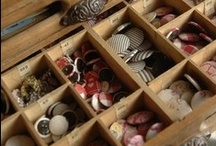 BUTTONS / I have a passion for buttons - old, new, big, small, glass, ceramic, wood, bead, love love LOVE buttons!