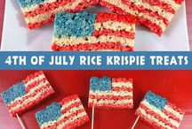 July 4th / Ideas to celebrate July 4th, recipes, crafts and just fun things we see!