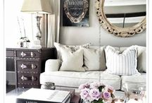 """1 Living Room / """"The living room should be a place where we feel totally at ease -temple of the soul."""" -Terence conran"""