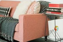Pink interiors / by Jenny Andrew
