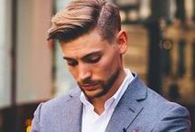 Men's Hair / Great looks for men of different walks of life.