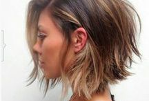 Short Length Hairstyles / All lengths above the shoulders.