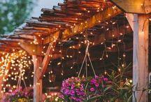 Garden and patio / by Deanna Fallon Antee