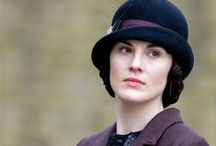 """Downton Abbey and the Hats that Inspire Us - MAGGIE MAE DESIGNS® / Sharing hat images from the British tv series """"Down Abbey"""", such fabulous CHAPEAUX!!!"""