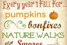 Fall is my favorite!! / The air gets a little cooler.  The leaves change colors.  And the candy corn is everywhere! / by Deanna Fallon Antee