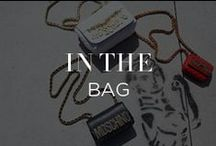 In The Bag / Totes Chic: Satchels, backpacks and clutches that won't leave your arm feeling underdressed. / by INTERMIX