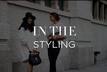 In The Styling / It's all in the styling: See how we put together the season's wardrobe must-haves. / by INTERMIX