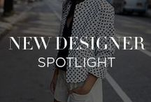 New Designer Spotlight / Our brand assortment is ever evolving. This is where to keep up with the newest buzz worthy designers on the INTERMIX roster. / by INTERMIX