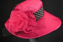 Kentucky Oaks Hats / Beautiful ladies' custom hats for the Kentucky Oaks celebrations at Churchill Downs.