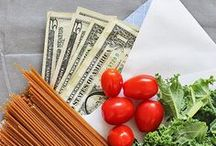 Budgeting + Meal Planning / Real Food Budgeting, Tips for Meal Planning, Money Saving Tips for Eating Real Food on a Budget, Eating in Season, Tips for Growing Your Own Food