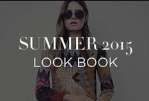 Summer 2015 Look Book / Flowy silhouettes, monochromatic evening wear and easy, cotton essentials perfect for a flawless getaway wardrobe—an absolute must for creating a summer to remember. / by INTERMIX