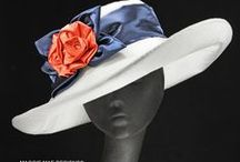 Saratoga Hats by MAGGIE MAE DESIGNS® / Hats for horse racing at Saratoga Springs, everything from fascinators to wide brims!