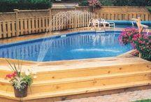 Our backyard oasis / Ideas for making the backyard  beautiful