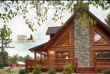 Collection: Exterior Views of Log Homes / We regularly update this album to include exterior photos of our log homes.