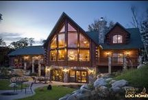 Lakehouse Luxury Log Home / Plan Name: Lakehouse 3352AL For information on how to get us involved with your new home, give us a call at 1-800-270-5025. If it's after hours, then enjoy our website at www.GoldenEagleLogHomes.com