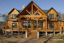 Country's Best Luxury Log Home / An elegant log home located on the lake. Floor Plan name: Country's Best 3361AL  For information on how to get us involved with your new home, give us a call at 1-800-270-5025. If it's after hours, then enjoy our website at www.GoldenEagleLogHomes.com