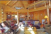 Log Home in South Carolina / Plan name: Myrtle Beach Home location: South Carolina