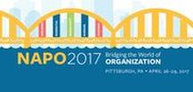 #NAPO2017 Annual Conference and Organizing Expo / Join us for four extraordinary days of world-class education, networking and good times with hundreds of your peers at the energizing, enlightening and inspiring event that is #NAPO2017! http://napo2017.net  Make plans now to join the National Association of Professional Organizers (NAPO) in Pittsburgh, PA from April 26-29 at the Westin Convention Center, Pittsburgh. Learn how to register, and more about the conference by clicking on each session's pin.