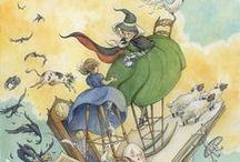 Alice Ratterree illustration for children / Illustration images from my web site at www.aliceink.com / by Alice Ratterree