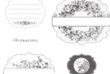 SU Apothecary Art & Labels Collection Framelits Inspiration / by Lisa Marie