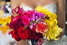 Wedding Bouquets / Flower bouquets help complete a bride's look. Here you'll find many bouquet ideas and colours to match your personal wedding style - from natural flowers as bouquet, to artificial and silk wedding bouquets.
