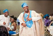 Nigerian Groom    Trad Wedding Attire / Nigerian men always strive to look their best on their own wedding day - in cute traditional Nigerian wedding attire. Browse this board for style ideas and inspiration.