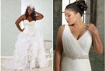 Big Girls WEDDING GOWNS    Plus Size Wedding Dresses