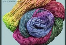 Yarn-Hand-Dyed Silk Merino