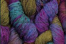Yarn-Hand-Dyed Cotton Rayon Seed