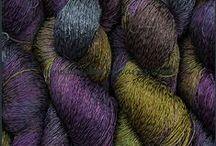 Yarn-Hand-Dyed Cotton Rayon Twist Lace