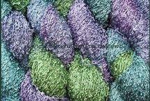 Yarn-Hand-Dyed Rayon Loop