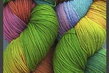 Yarn-Hand-Dyed Sock Plus