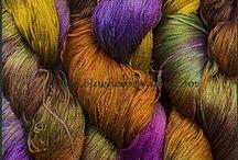 Yarn-Hand-Dyed Egyptian Mercerized Cotton