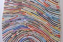 Collagen - Mixed-Media-Art / Eine Sammlung von allem, was gefällt im Bereich Collage, Mixed-Media, ...
