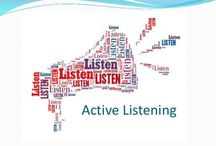 Training with the ABM / Resources to help with counselling; active listening, questioning, paraphrasing, reflecting / by ABM