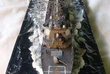 1:350 Uss Milius DDG 69 / Model ship kits