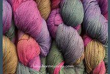 Yarn-Hand-Dyed Organic Cotton