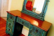 Furniture restoring