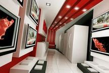 Hitachi Showroom - Aleppo / Category: Retail Client: Hitachi - MTC  Area Space: 40 sq. meter Year of completion: 2009