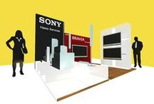 SONY Stand Decorex 2009 / Category: Installation Architecture – Expo Stand Client: SONY NTC – Decorex 2009 - Damascus  		 Area Space: 80 sq. meter Year of completion: 2009