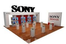 SONY Stand Syroptica 2008 / Category: Installation Architecture – Expo Stand Client: SONY NTC – Syriaoptica 2008 - Damascus  		 Area Space: 80 sq. meter Year of completion: 2008