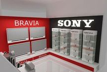 SONY Target / Category: Installation Architecture – Expo Stand Client: SONY NTC – Target Booth Area Space: 30 sq. meter Year of completion: 2009