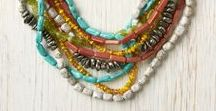 Simply combined  beads / Jewelry with simply  but  pretty combination of beads
