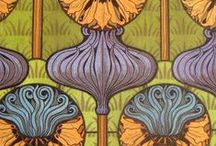 Art Nouveau graphics and paintings