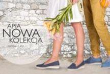 Kolekcja butów APIA wiosna/lato 2015.