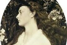 Alice and Lewis / photos about the real Alice (Alice Liddell) and Lewis Caroll (Charles Lutwidge Dodgson)
