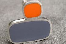 Arty Jewellery / Art Deco, Contemporary, Architectural, Opaque.