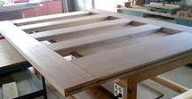 mobiliario en fabricación / diseño y elaboración propios