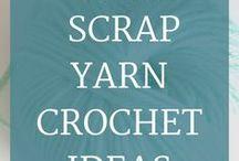 Scrap Yarn Crochet Ideas / Scrap yarn crochet ideas, scrap yarn crochet inspiration, one scrap yarn crochet patterns, left over yarn crochet ideas, leftover yarn crochet inspiration, leftover yarn crochet patterns, one skein crochet ideas, one skein crochet inspiration, one skein crochet patterns, small crochet patterns, quick crochet ideas, easy crochet ideas, quick crochet projects, only one skein needed crochet ideas, scrap yarn crochet ideas for her, free scrap yarn crochet ideas, easy scrap yarn crochet patterns free